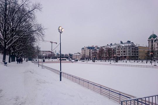 Казанцев приглашают наоткрытие катка впарке «Черное озеро»