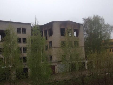 ВКазани натерритории прежнего артиллерийского училища произошел пожар