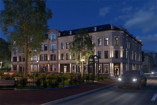 ... который многие эксперты называют одним из самых красивых в городе  особняков эклектично-замкового стиля, появится новый сосед «Юнусовская  усадьба». 0bb00e957be