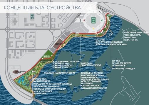 Около «Казань Арены» будет проложена самая длинная вмире скамейка