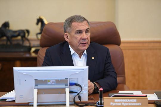Минниханов рассказал, как развивать экономику РТ в условиях кризиса