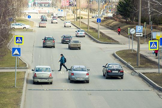 Пешеходные переходы в России приподнимут над дорогой