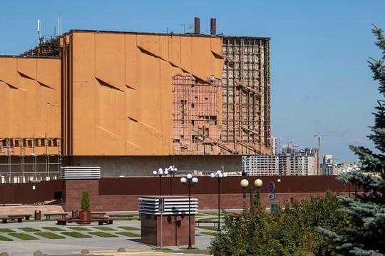Итальянский фотограф усомнился в необходимости реконструкции фасада НКЦ в Казани