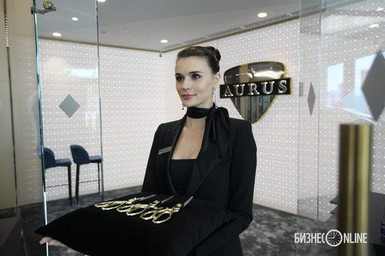 В Москве с помпой открыли первый центр продаж Aurus – авто «как у Путина»