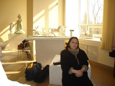 Скончалась первая татарская женщина-скульптор Рада Нигматуллина