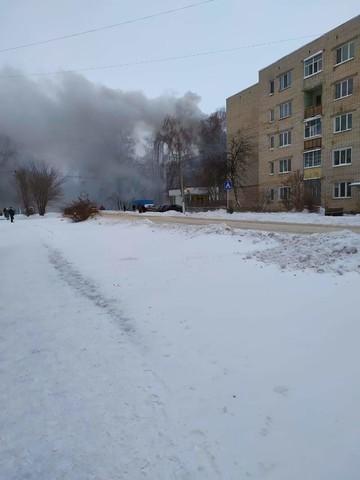 Под Казанью загорелась квартира в многоэтажке – людей выводили по автолестнице