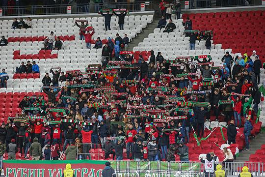 Серия из 7-ми поражений: «Рубин» проиграл «Тереку»