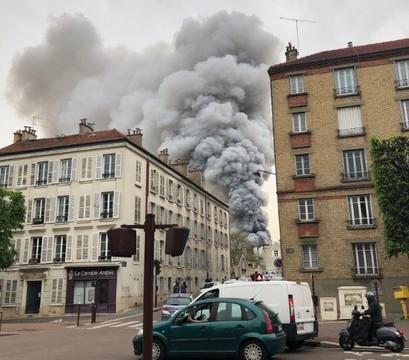 В Париже горит Версаль