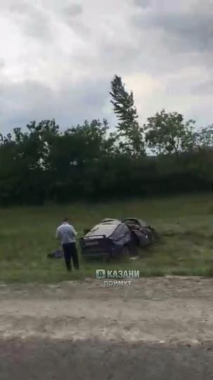 В МВД рассказали подробности ДТП под Казанью, в котором погибли девушка и младенец
