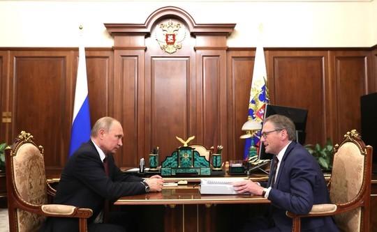 Титов назвал Путину главную проблему бизнеса в России
