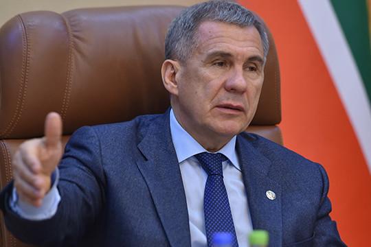 Минниханов объяснил, для чего в Татарстане вводили режим самоизоляции