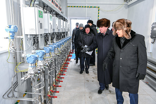 ВТатарстане запустили крупнейшую газораспределительную станцию