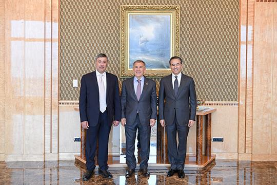 Рустам Минниханов встретился сглавой компании Emaar Properties