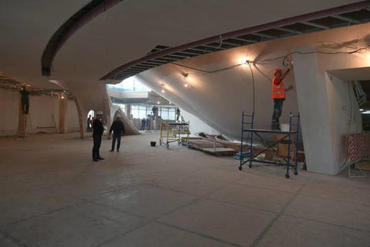 Минниханов осмотрел сооружение казанского цирка имузея Тукая