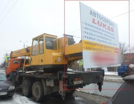 ФАС возбудила дело в отношении автосервиса в Казани за рекламу на транспорте