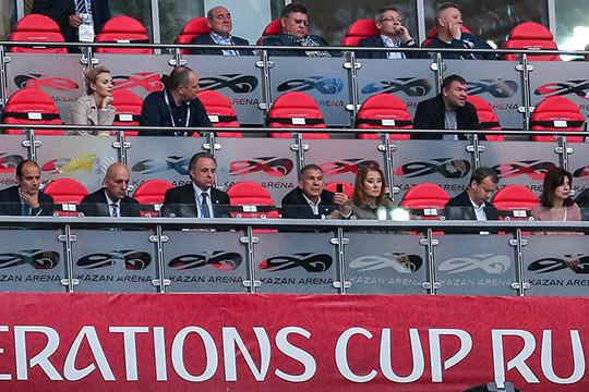 Вовремя матча Мексика— Новая Зеландия произошла массовая драка