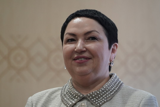 Бильгильдеева о задачах эсеров: «В программу будет включено обязательное изучение татарского языка»