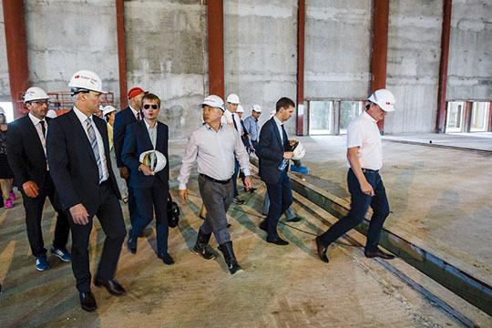 Около «Казань Экспо» к 2019г. построят торговый центр игостиницу