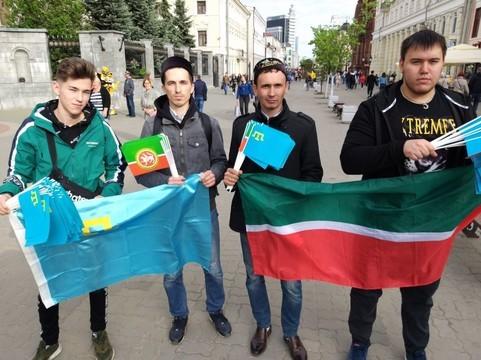 Союз татарской молодежи «Азатлык» и ВТОЦ отметили 75-летнюю годовщину депортации крымских татар