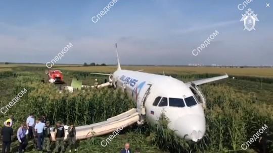 ТАСС узнал результаты промежуточного отчета МАК о причинах ЧП с Airbus A321, севшим в кукурузное поле
