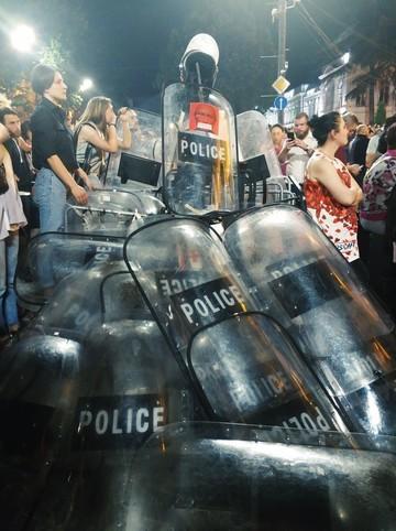 В Грузии начались массовые протесты против «российской оккупации»