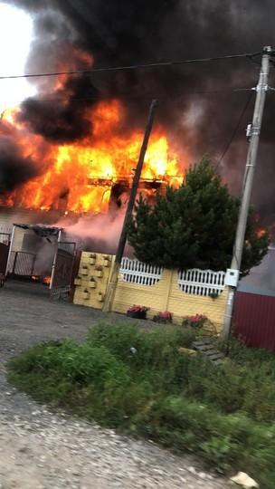 В Казани вспыхнул детский сад