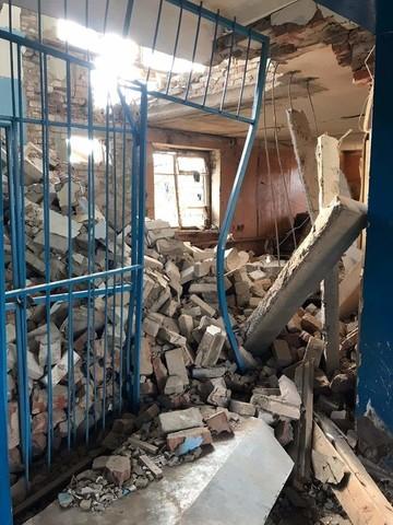 В Татарстане в результате взрыва обрушились перекрытия административного здания