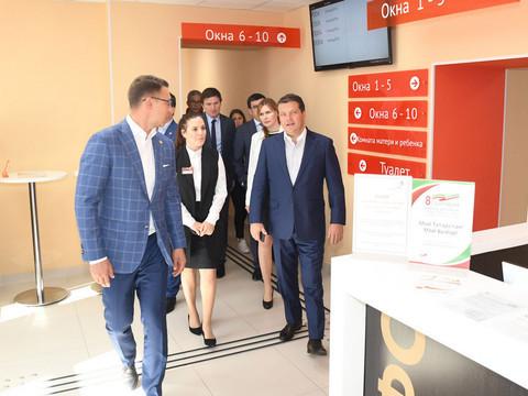 Метшин ознакомился с работой офиса МФЦ в Юдино: «Уровень топовый!»