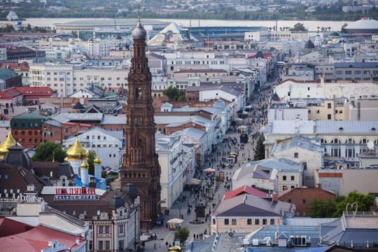 Казань попала в список самых перспективных городов России по версии Forbes