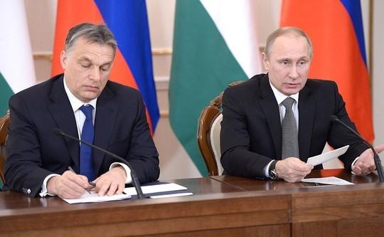 ВВенгрии Владимир Путин провел переговоры спремьер-министром страны Виктором Орбаном