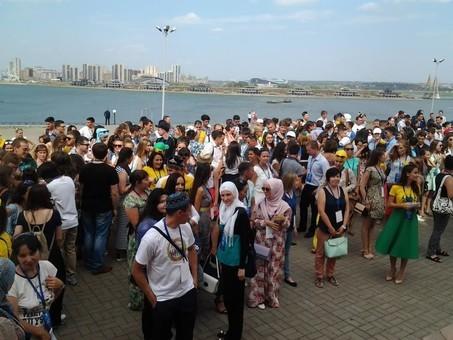 Всемирный Форум татарской молодежи открылся вКазани эксклюзив