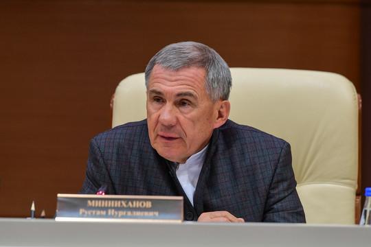 Минниханов провел совещание по смягчению ограничений в Татарстане: «Режим самоизоляции не отменяется»