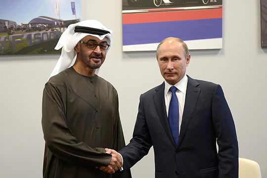 Кремль назвал тему переговоров В.Путина снаследным принцем Абу-Даби