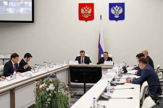 Хуснуллин представил Файзуллина коллективу минстроя РФ и обозначил задачи