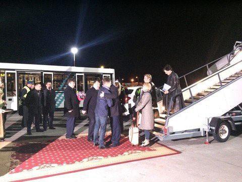 Мэр столицы Латвии Нил Ушаков прилетел вТатарстан рейсом Рига— Казань
