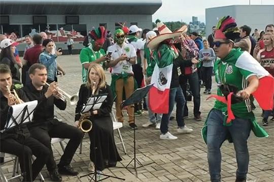 Черчесов иВасин посетят пресс-конференцию перед матчем против Мексики