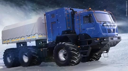 В Москве представлен новый «КАМАЗ-Арктика» class=