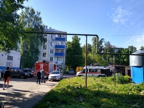 В Казани произошел взрыв газа в жилом доме