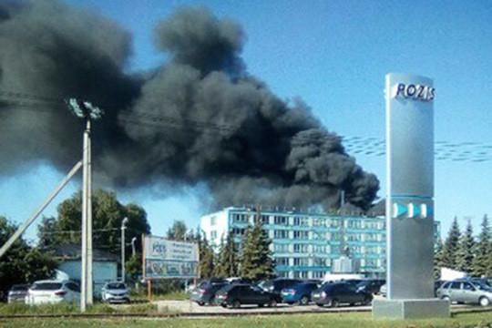 ВТатарстане зажегся один изцехов завода «POZIS»