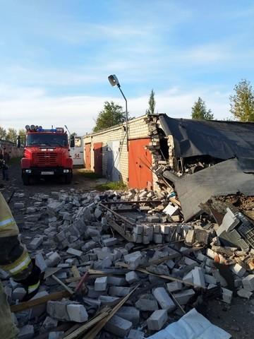 В Челнах взорвался автомобиль в гараже – пострадал мужчина
