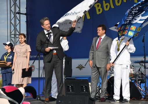 Казань приняла эстафету флага WorldSkills
