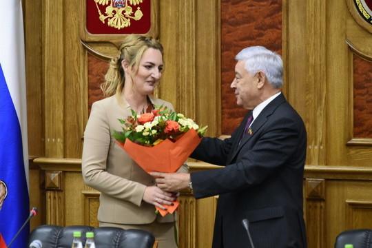 Председателем молодежного парламента при Госсовете РТ избрана Нина Шимина