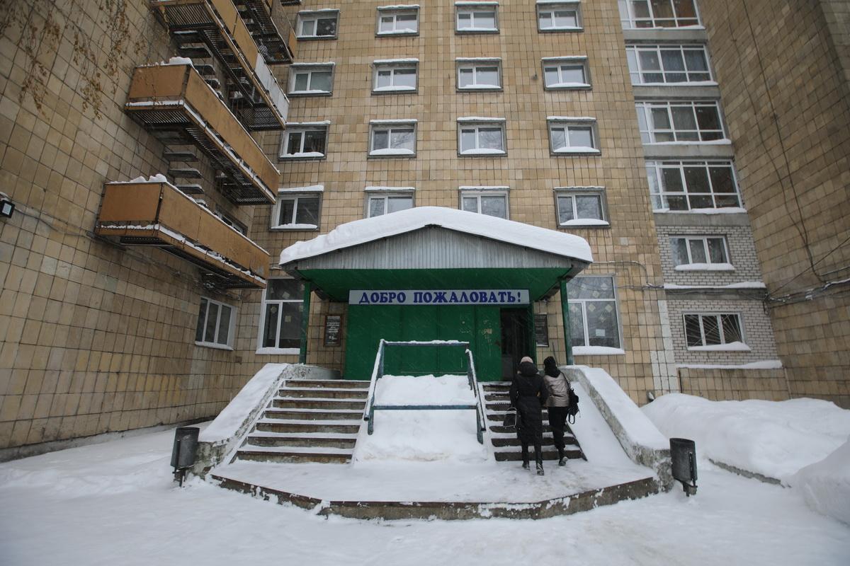 Общежитие на Аделя Кутуя, 6. Фото: Алексей Белкин