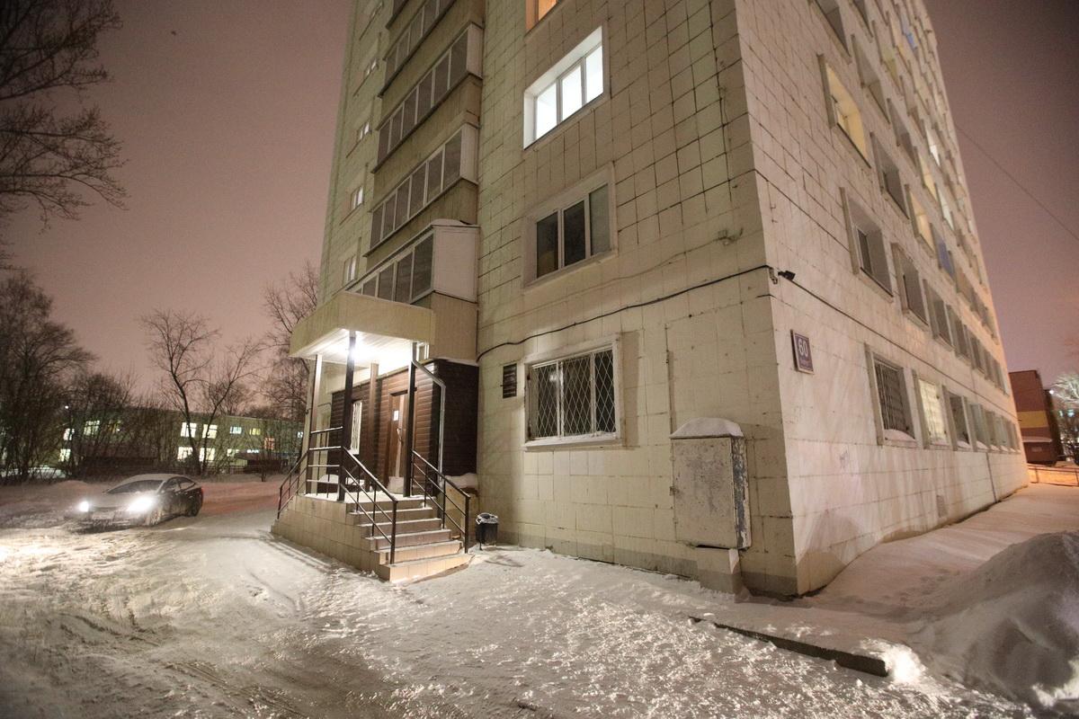 На фото общежитие по улице Красной Позиции, 2а. Фото: Алексей Белкин