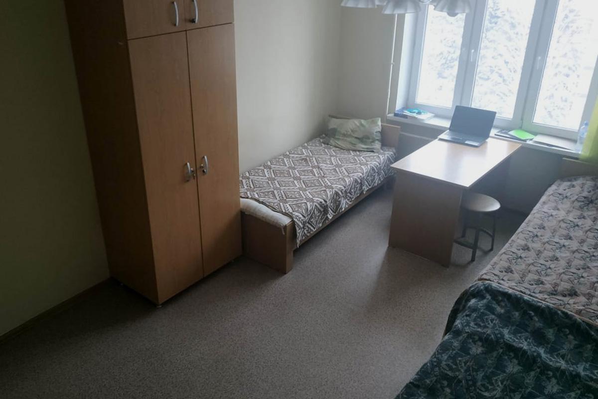 Фото предоставлено студентами общежития