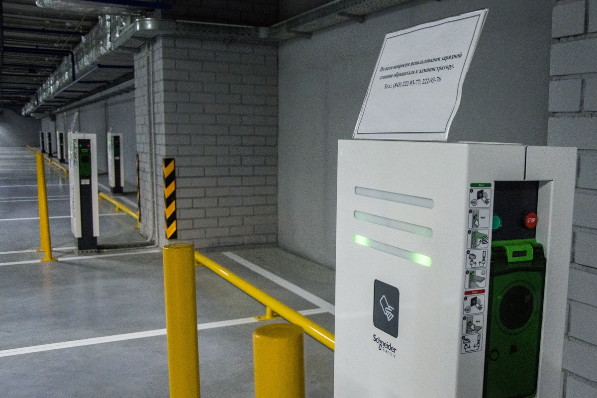Парковка, которую построил ТАИФ. За 2,2 миллиарда