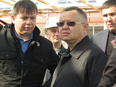 аа плутник и министр строительства, архитектуры и жкх рт иэфайзуллин 30072014