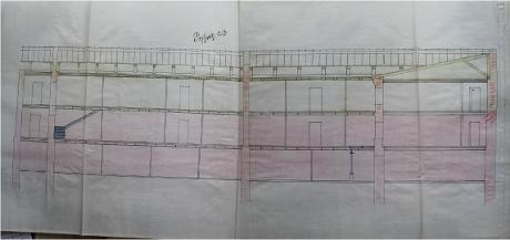 архивный документ 1912Рі Надстройка 3-РіРѕ этажа. Здание РІ СЂР