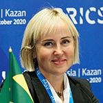 Мухамедшина Рима Жамиловна, генеральный директор Департамента продовольствия и социального питания г. Казани