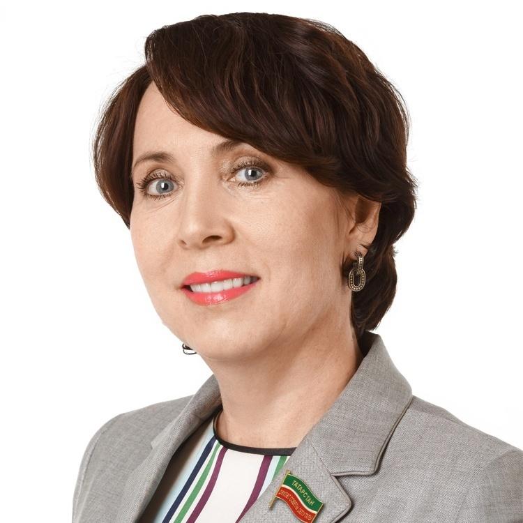 Кудерметова Ляля Ринатовна, директор татарстанского регионального филиала АО «Россельхозбанк», депутат Госсовета РТ